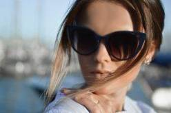 Woman Blue Sunglasses | Eyeglasses & Contacts In Fort Worth